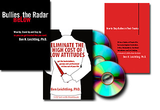 Image of Bullies be Gone System: Two Books and one 3-audio CD pack at a discounted price.